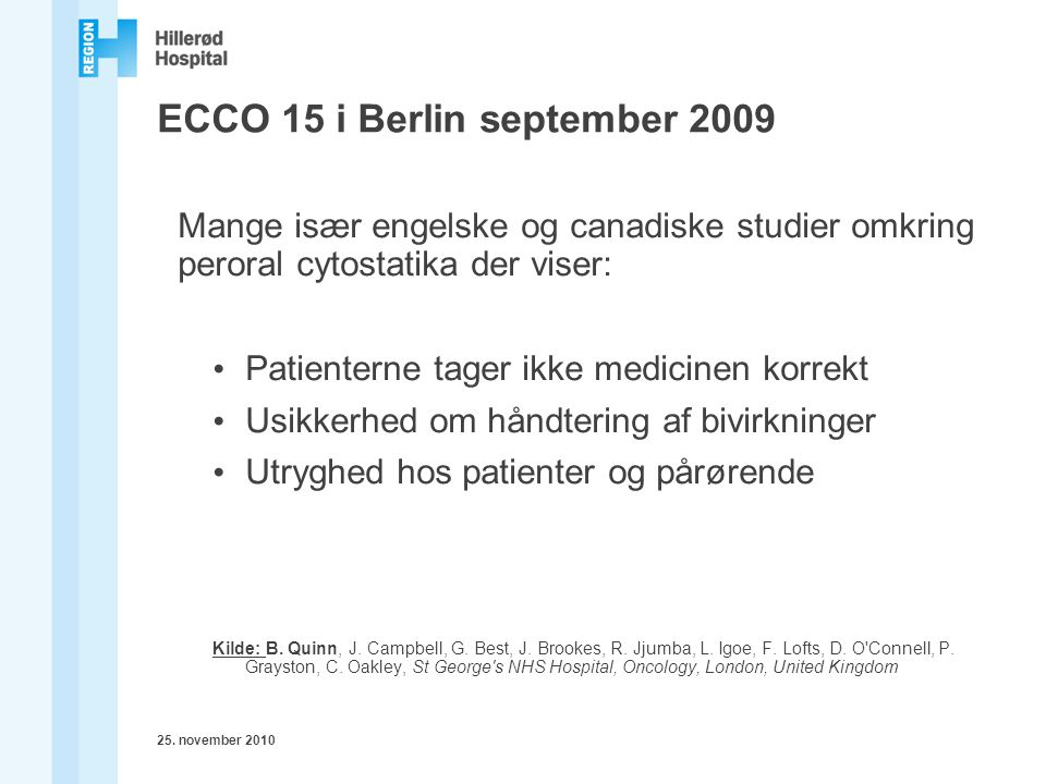 ECCO 15 i Berlin september 2009