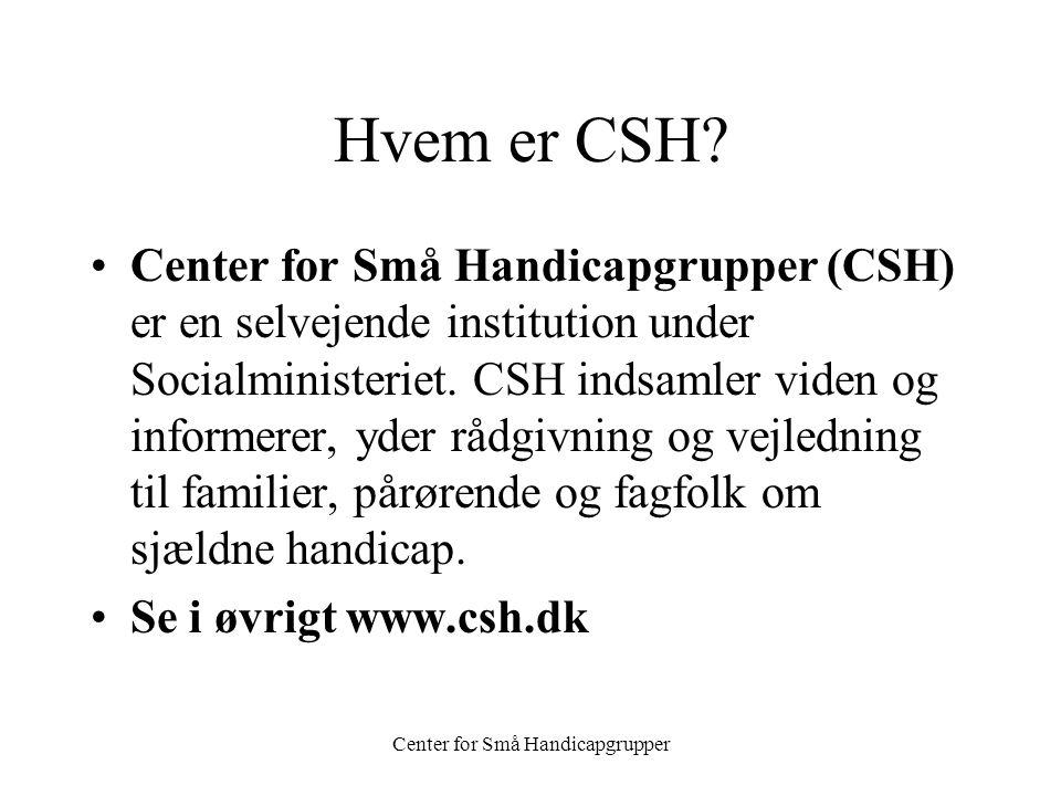 Center for Små Handicapgrupper