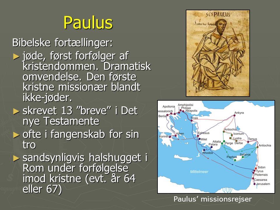 Paulus Bibelske fortællinger: