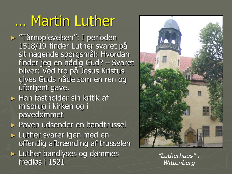 Lutherhaus i Wittenberg