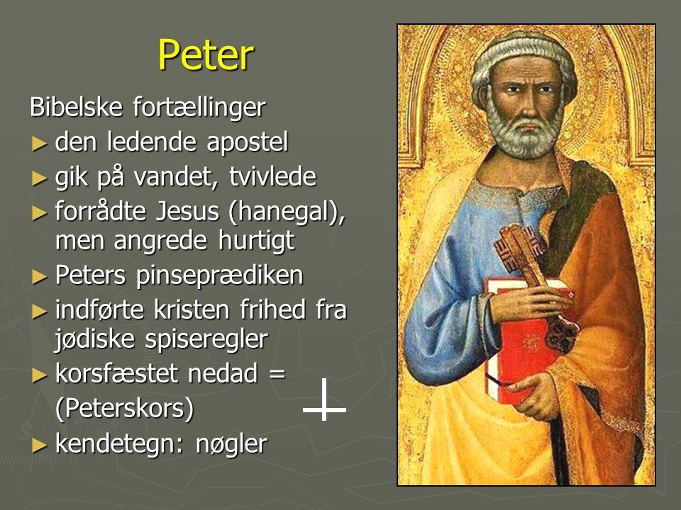 Peter Bibelske fortællinger den ledende apostel