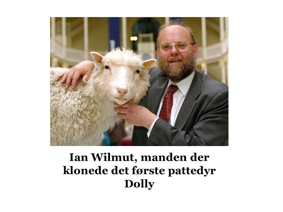 Ian Wilmut, manden der klonede det første pattedyr Dolly