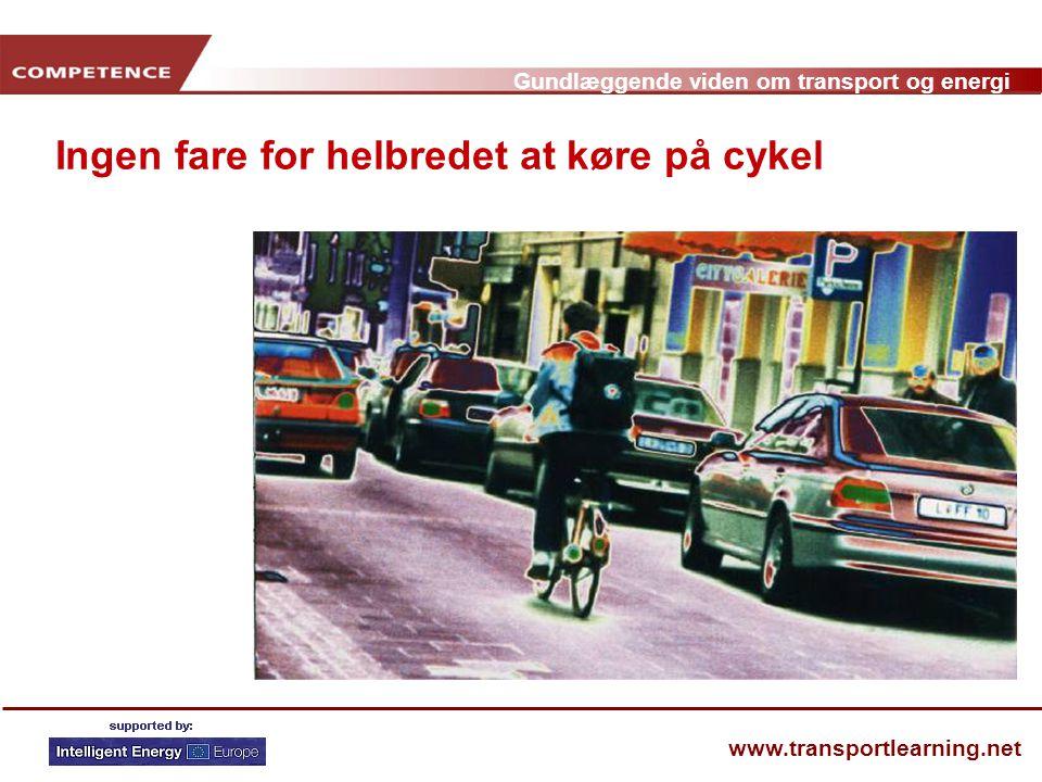Ingen fare for helbredet at køre på cykel