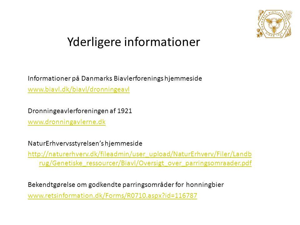 Yderligere informationer