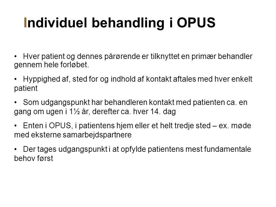 Individuel behandling i OPUS