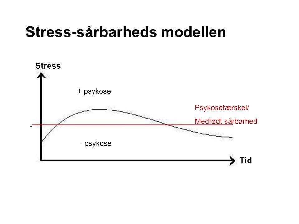 Stress-sårbarheds modellen