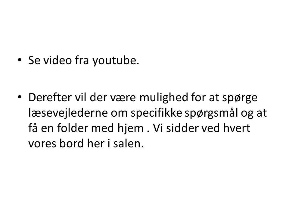 Se video fra youtube.