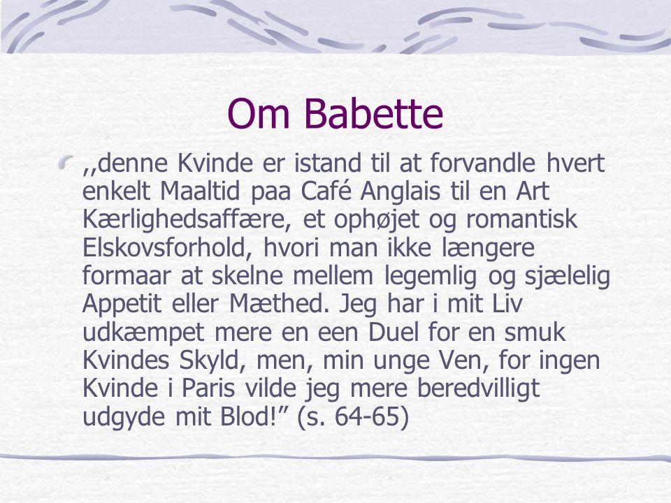 Om Babette