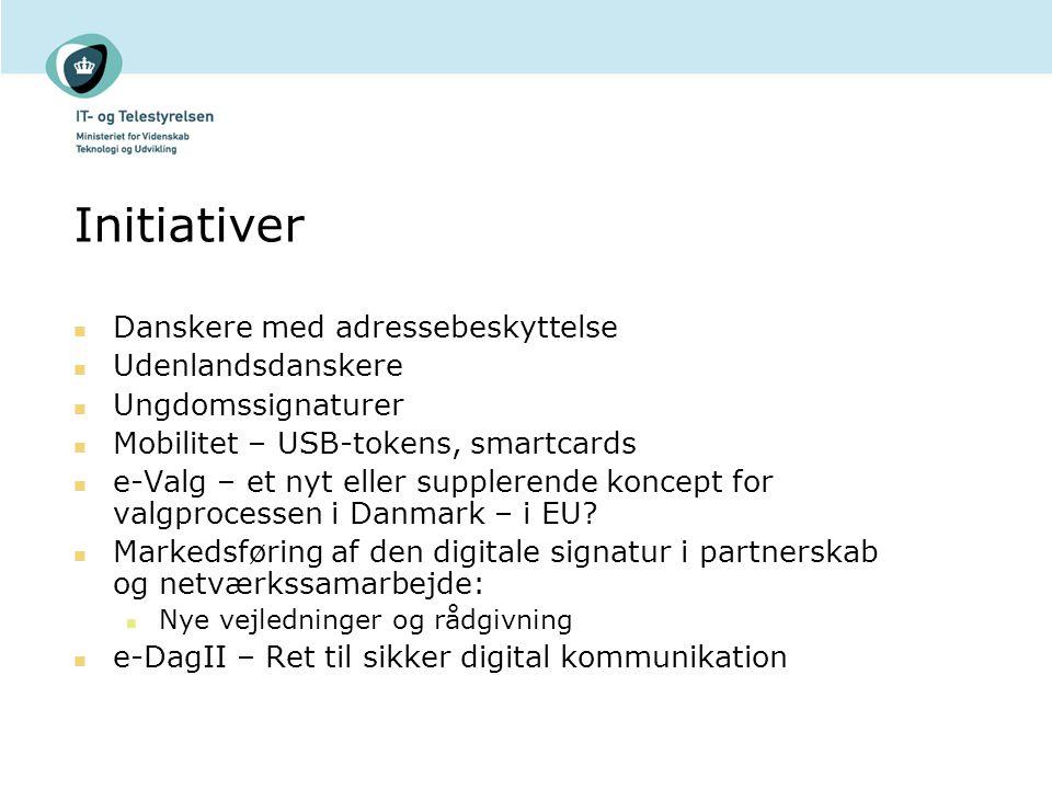 Initiativer Danskere med adressebeskyttelse Udenlandsdanskere