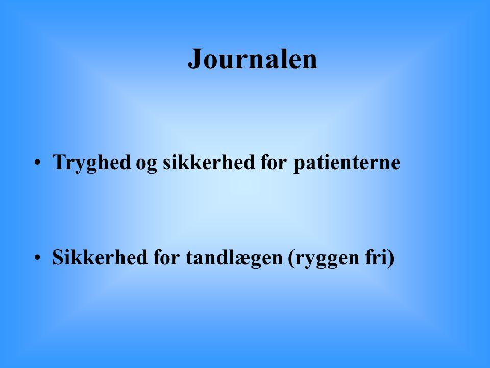Journalen Tryghed og sikkerhed for patienterne