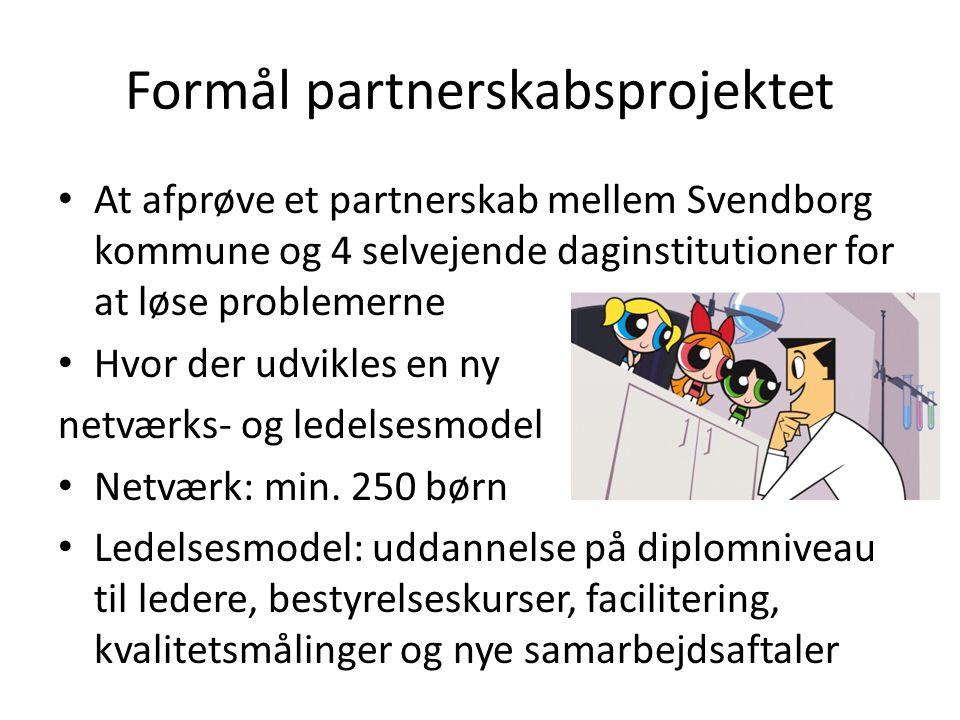 Formål partnerskabsprojektet