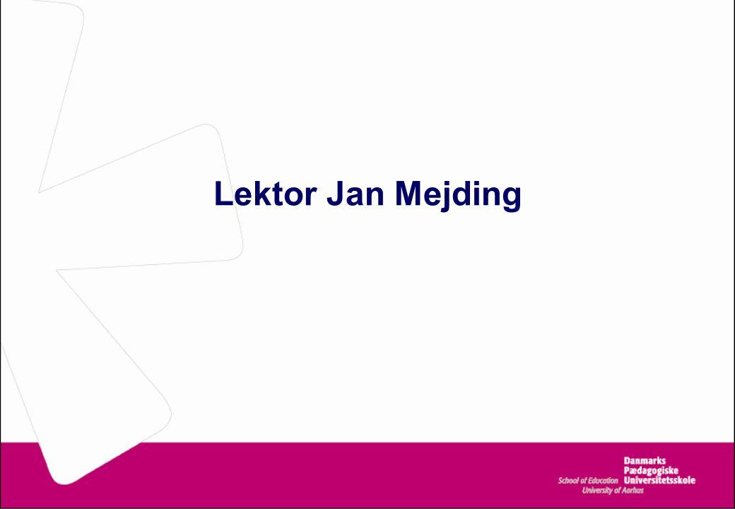 Lektor Jan Mejding