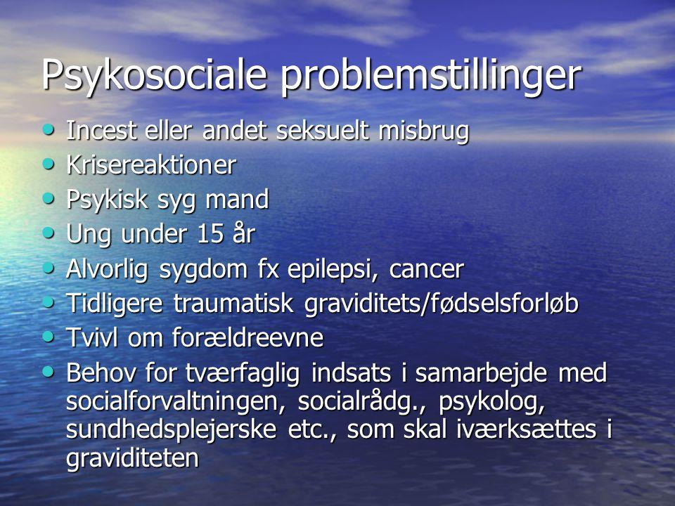 Psykosociale problemstillinger