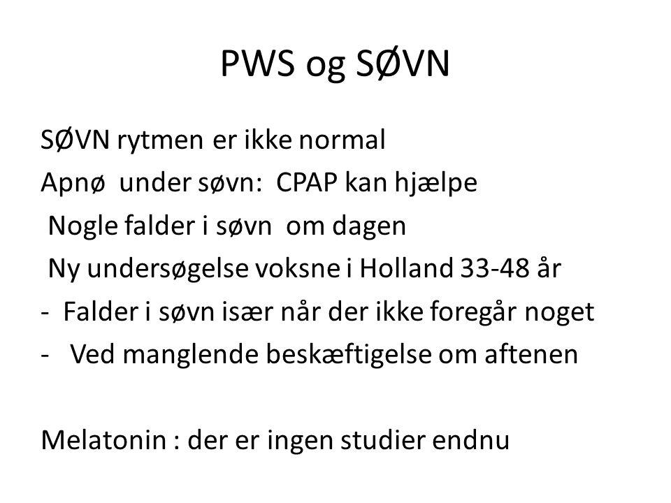 PWS og SØVN