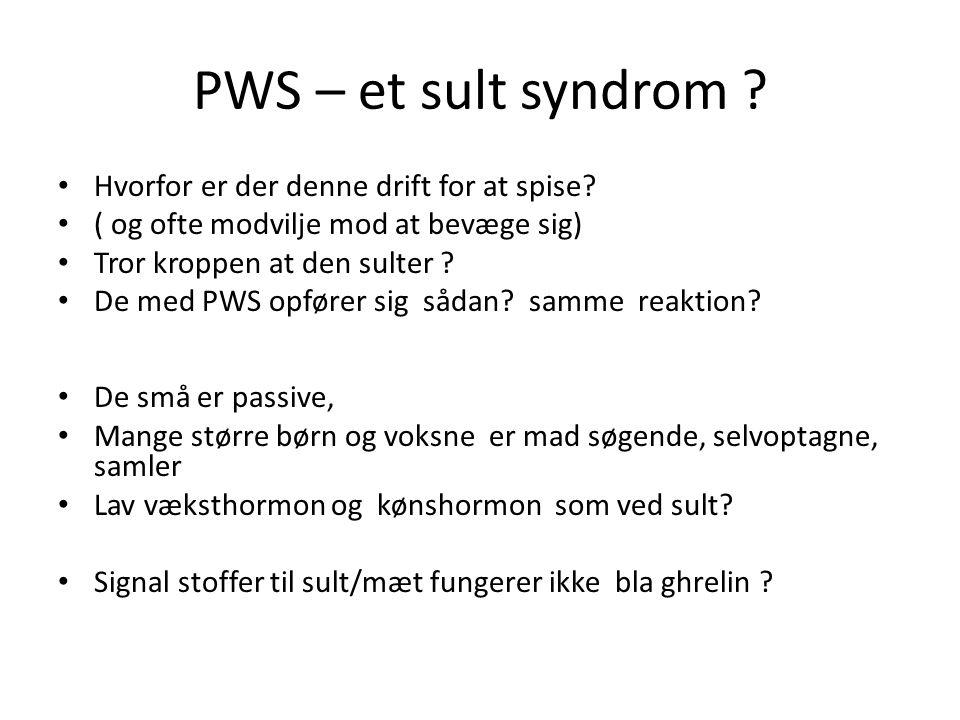PWS – et sult syndrom Hvorfor er der denne drift for at spise