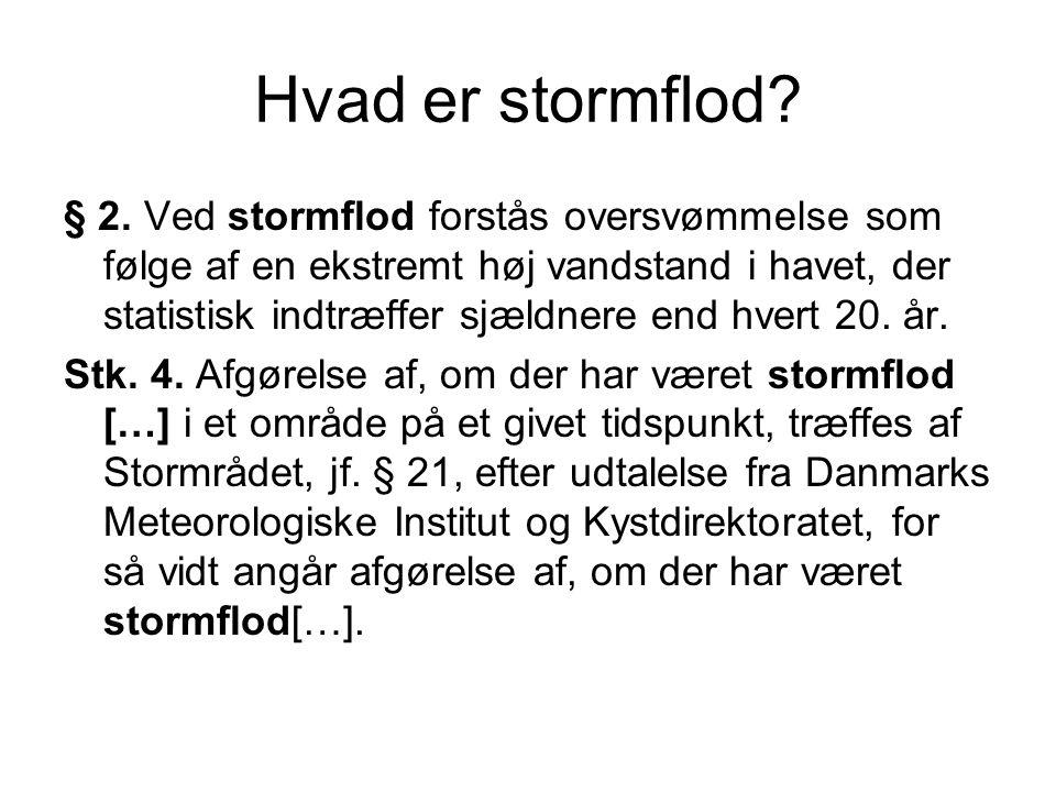 Hvad er stormflod