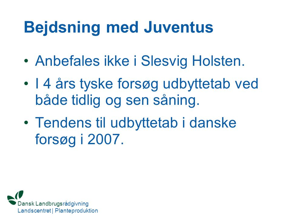 Bejdsning med Juventus