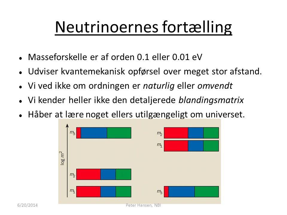 Neutrinoernes fortælling