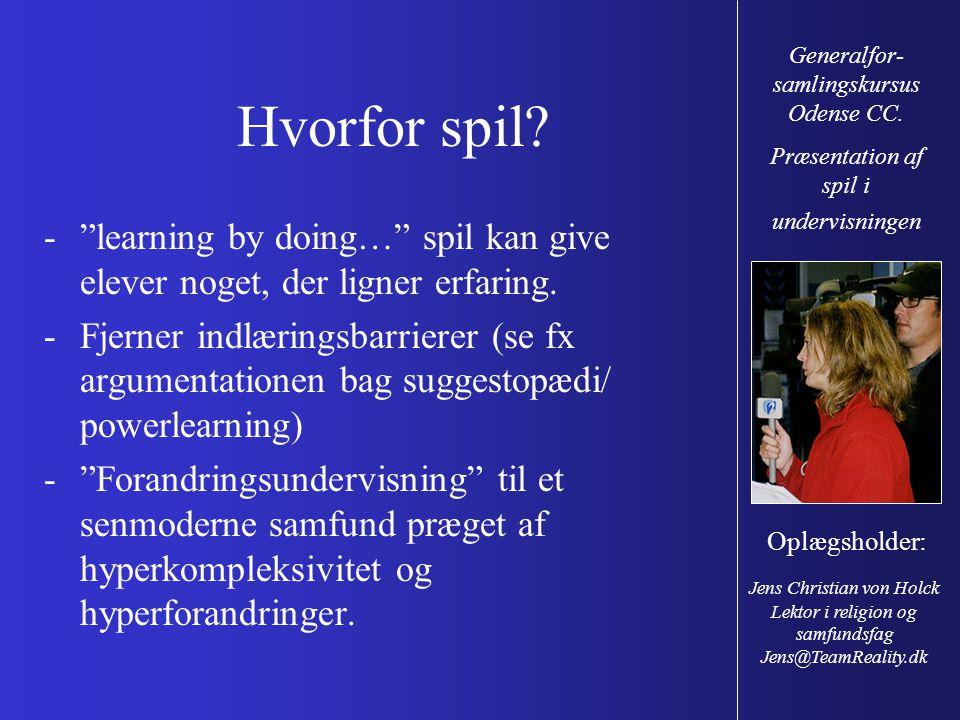 Generalfor-samlingskursus Odense CC.