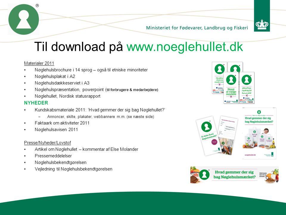 Til download på www.noeglehullet.dk