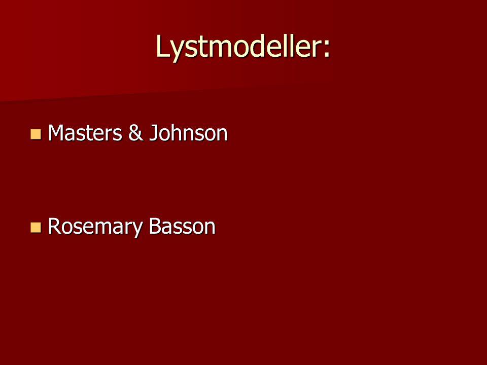Lystmodeller: Masters & Johnson Rosemary Basson