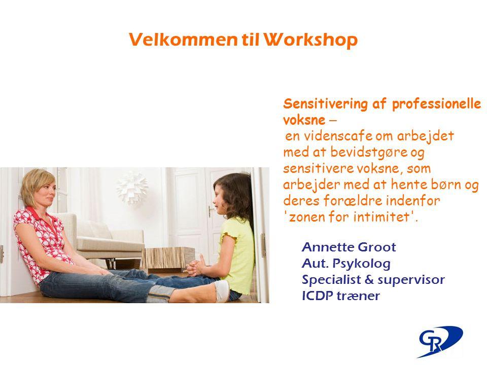 Velkommen til Workshop