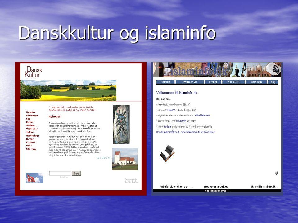 Danskkultur og islaminfo