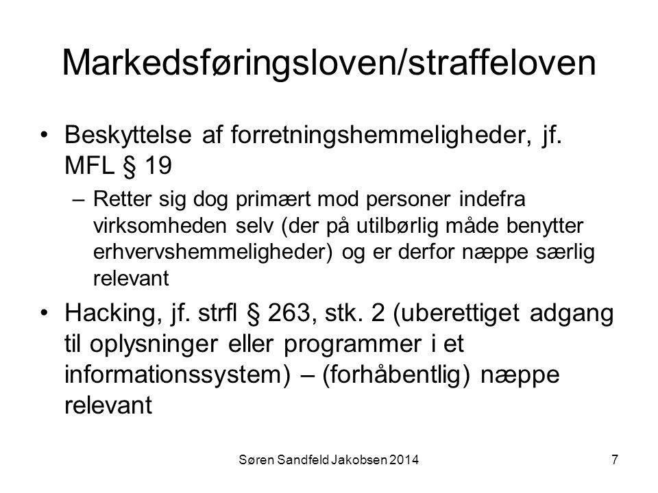 Markedsføringsloven/straffeloven
