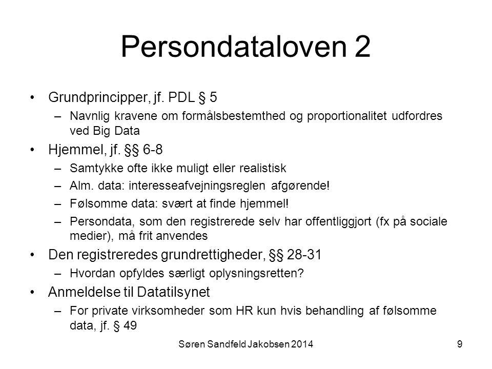 Søren Sandfeld Jakobsen 2014