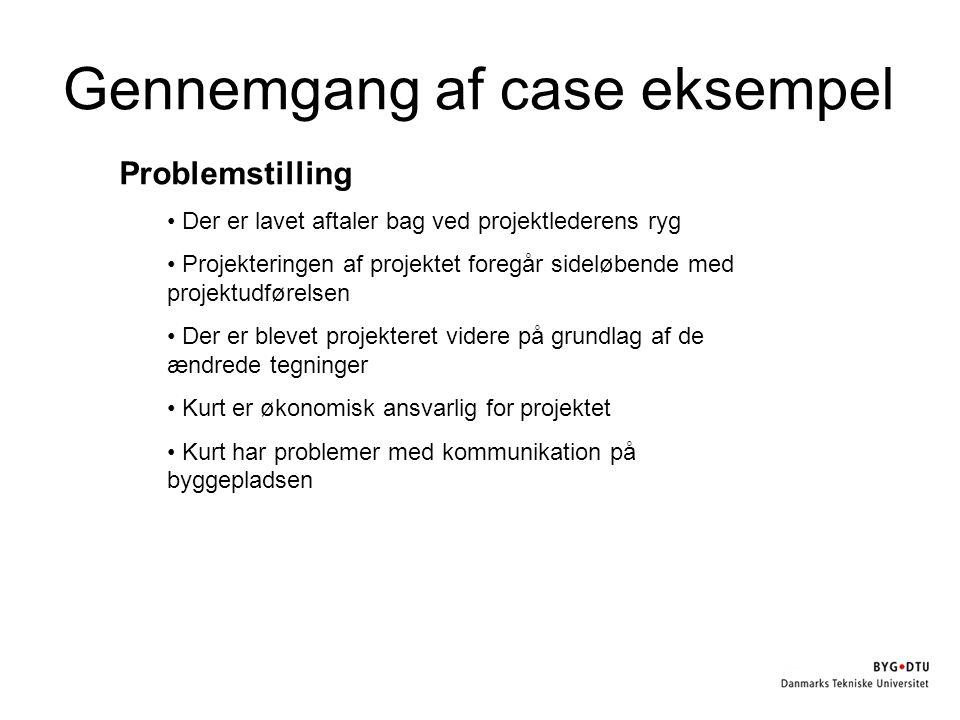 Gennemgang af case eksempel