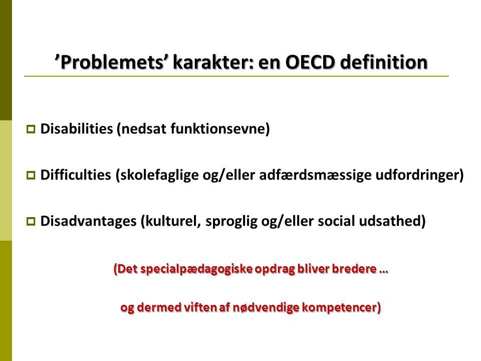 'Problemets' karakter: en OECD definition