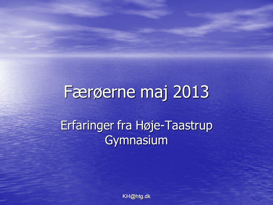 Erfaringer fra Høje-Taastrup Gymnasium