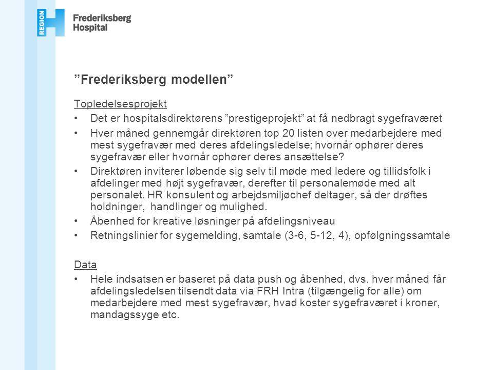 Frederiksberg modellen