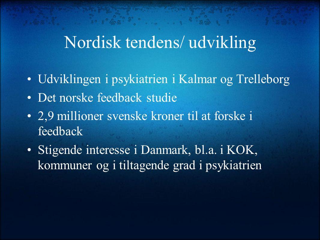Nordisk tendens/ udvikling