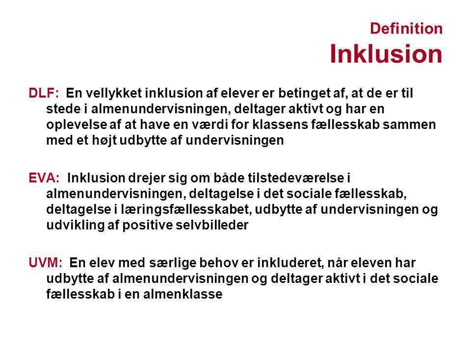 Definition Inklusion