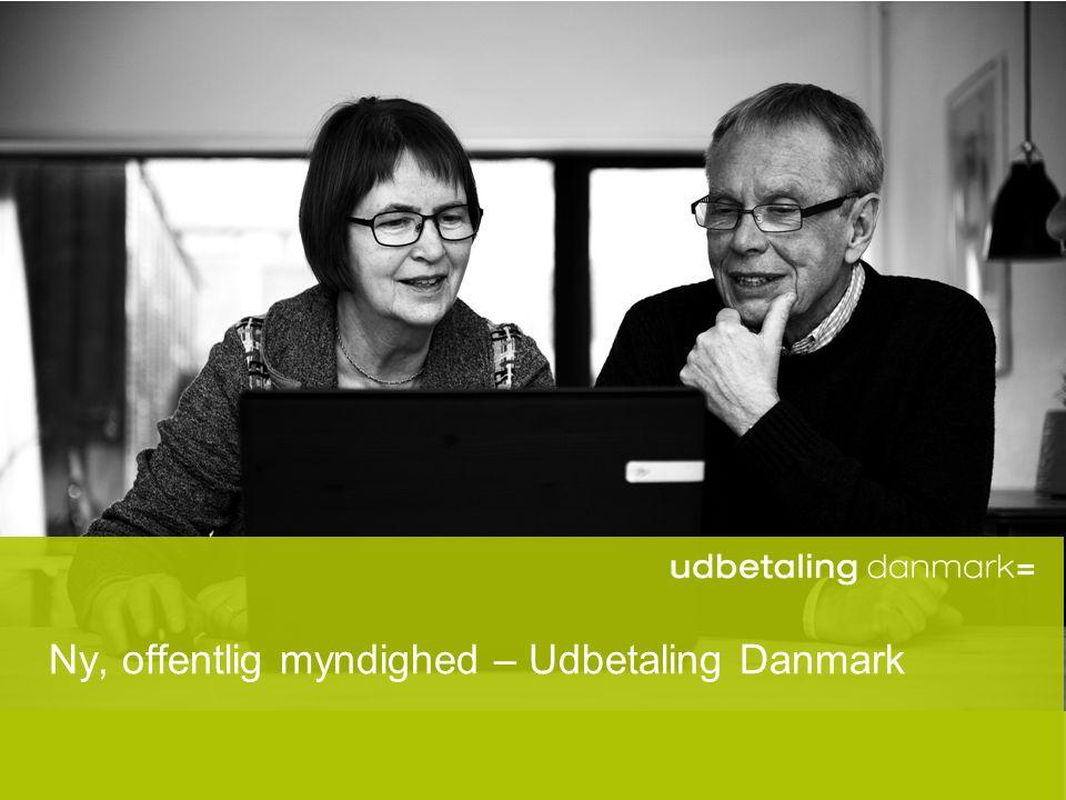 Ny, offentlig myndighed – Udbetaling Danmark