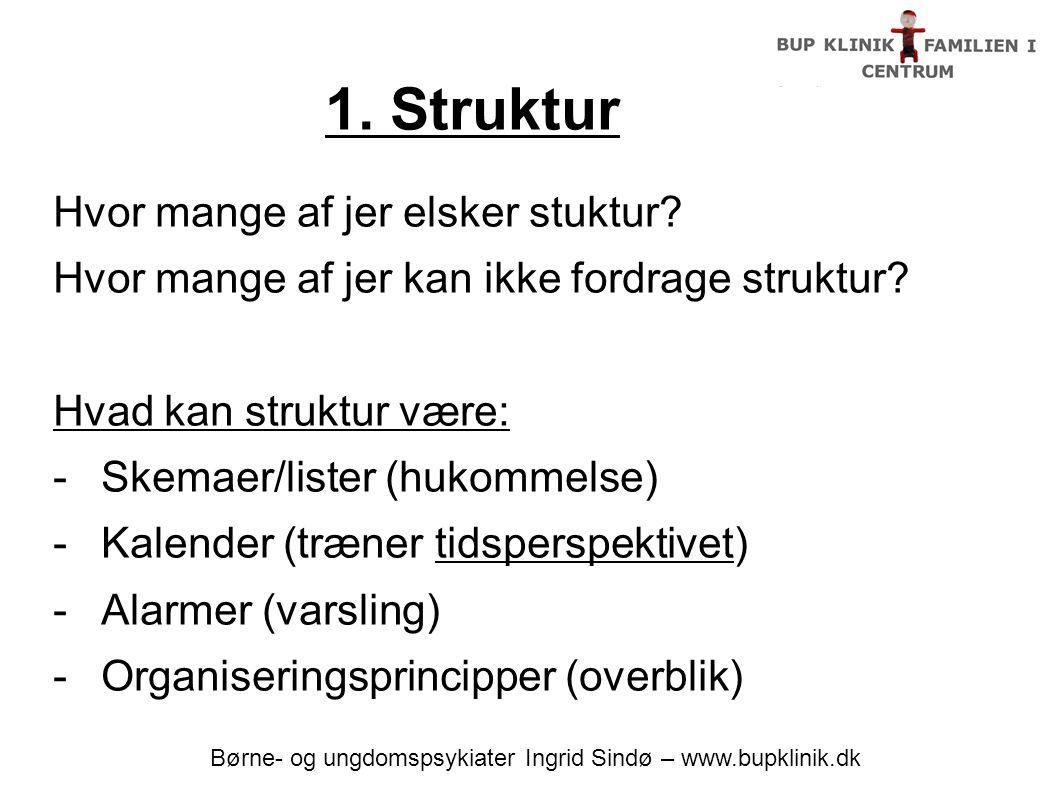 Børne- og ungdomspsykiater Ingrid Sindø – www.bupklinik.dk