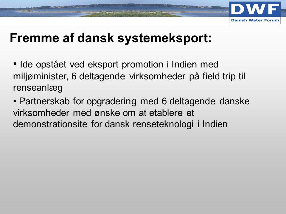 Fremme af dansk systemeksport:
