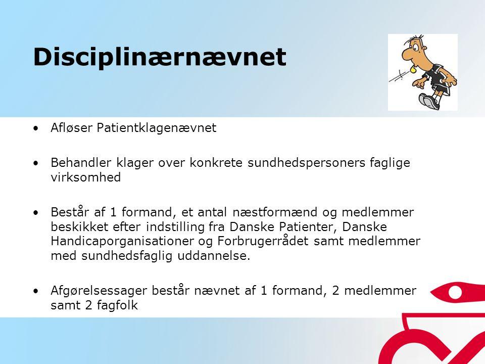 Disciplinærnævnet Afløser Patientklagenævnet