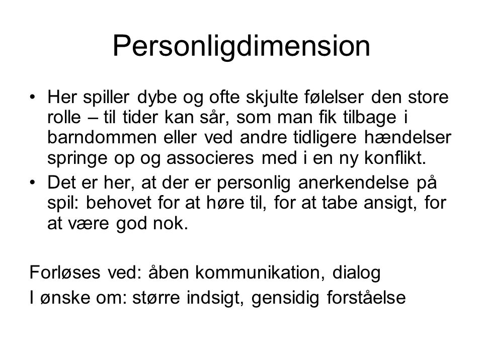 Personligdimension