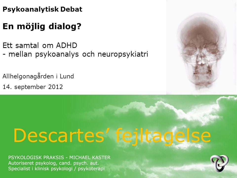 Descartes' fejltagelse