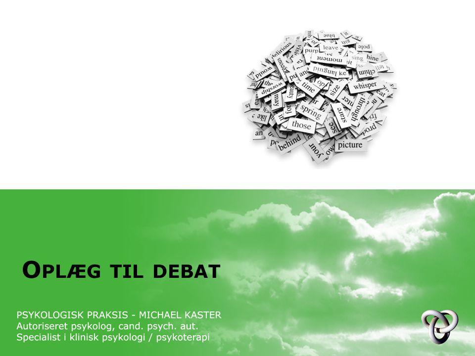 Oplæg til debat