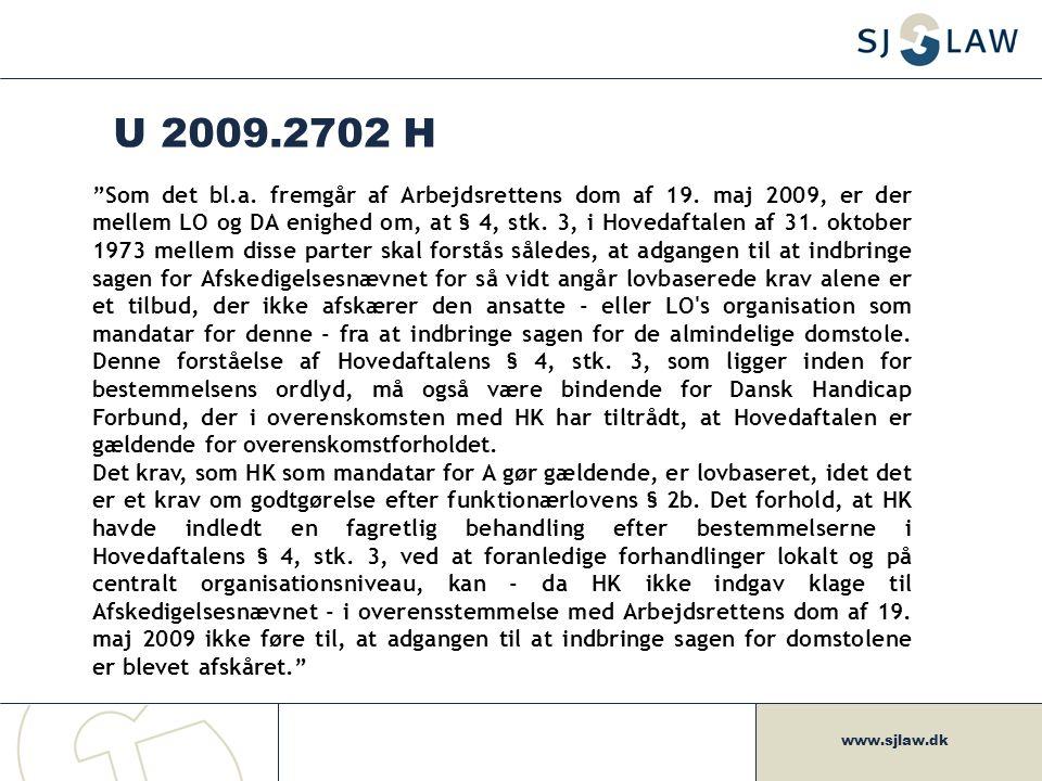 U 2009.2702 H