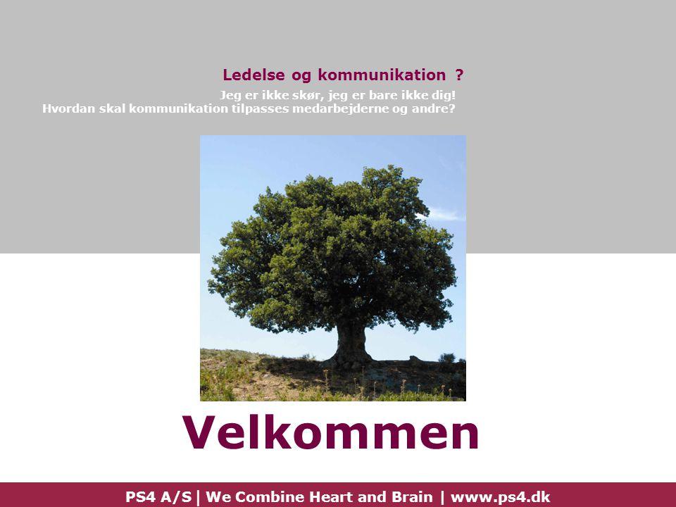 Velkommen Ledelse og kommunikation