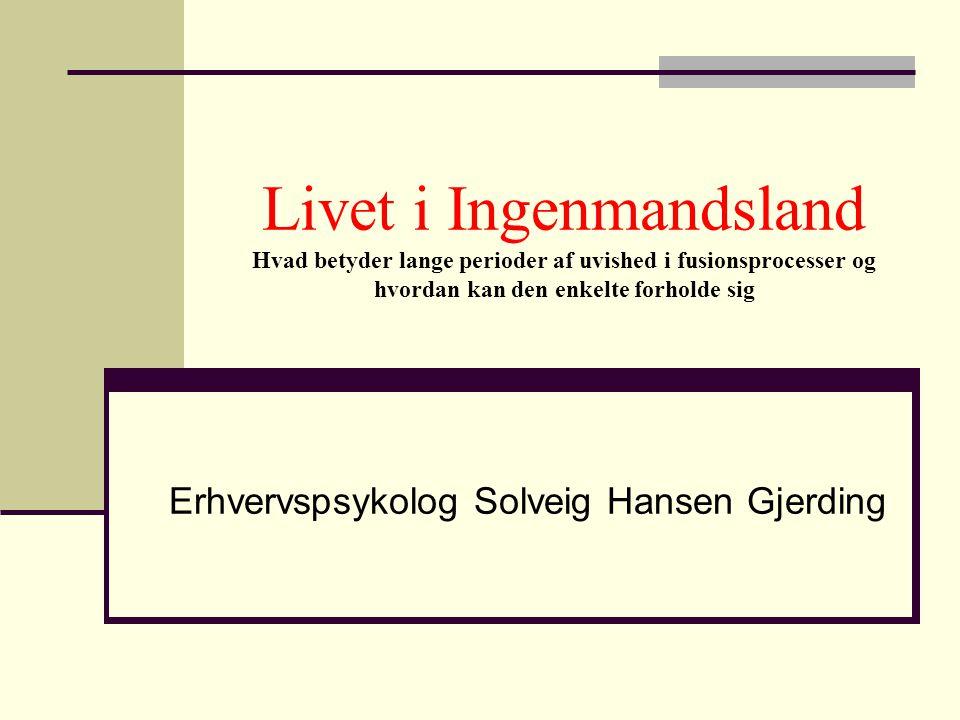 Erhvervspsykolog Solveig Hansen Gjerding