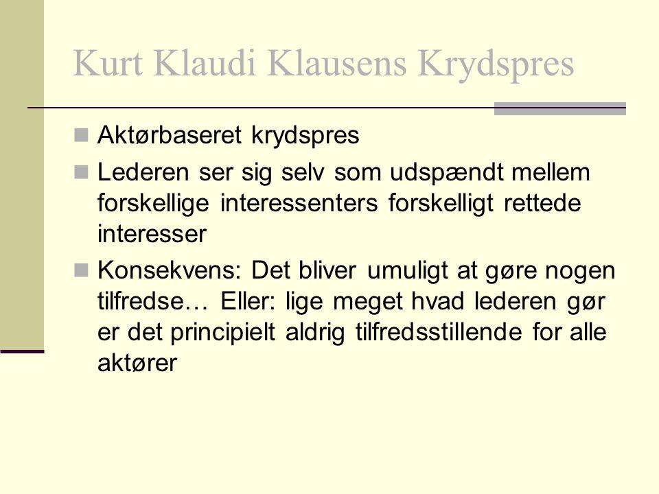 Kurt Klaudi Klausens Krydspres