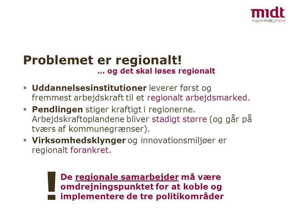Problemet er regionalt!