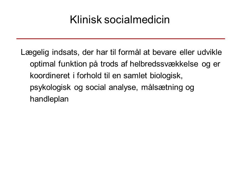 Klinisk socialmedicin
