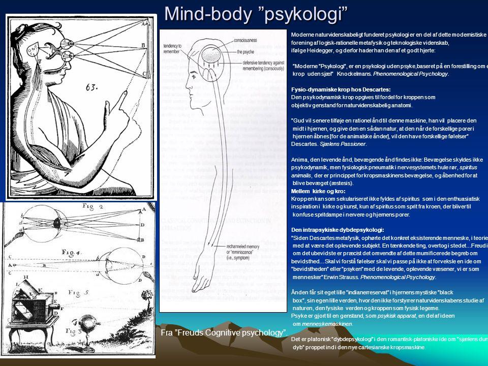 Mind-body psykologi