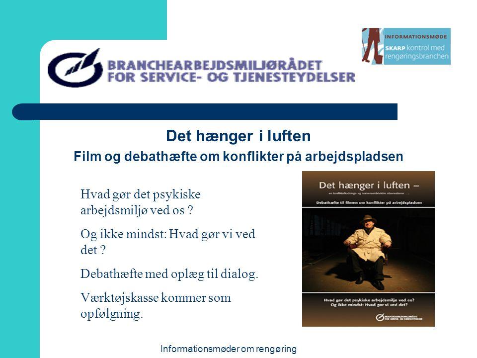 Film og debathæfte om konflikter på arbejdspladsen